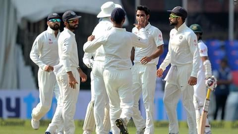 India defeat Bangladesh in one-off test