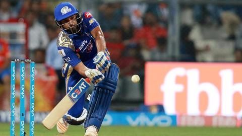 IPL: Rohit Sharma guides MI to win against RCB