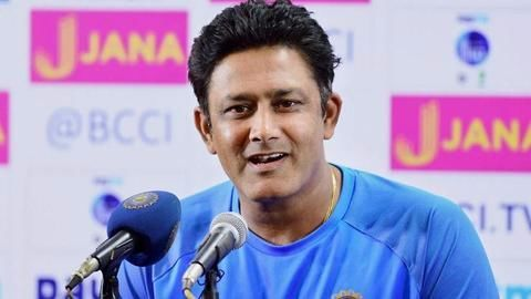 What made Kumble leave the coach job?