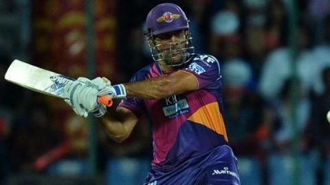 IPL: Dhoni guides RPS to a victory against SRH