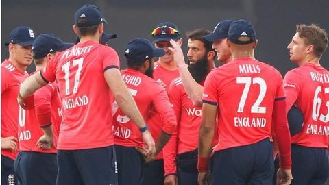 England win the first T20 against India