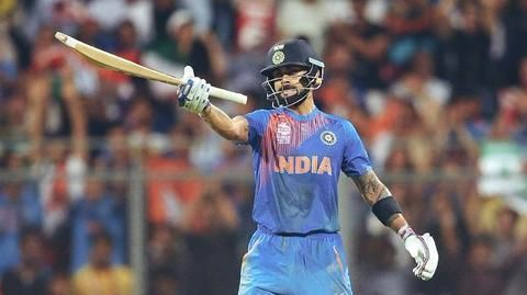 Virat's performance in England