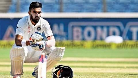 KL Rahul ruled out of first test