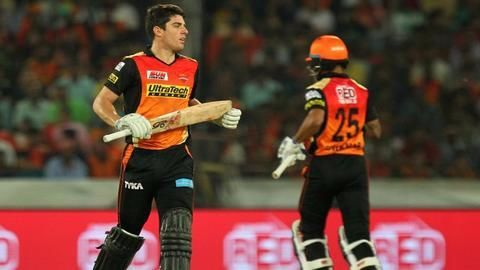 SRH post the highest IPL10 score in the first match