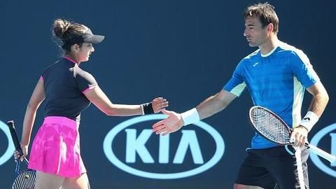 Australian Open: Sania Mirza reaches finals of mixed doubles