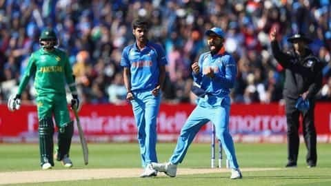 ICC Champions Trophy- India defeat Pakistan by 124 runs