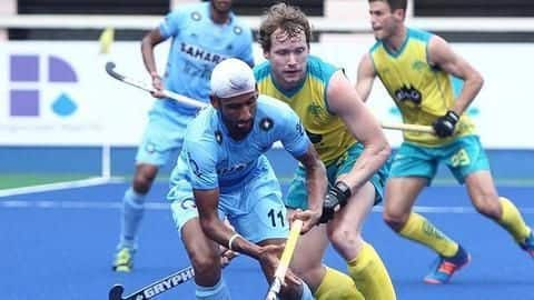 Sultan Azlan Shah Cup: India go down fighting against Australia