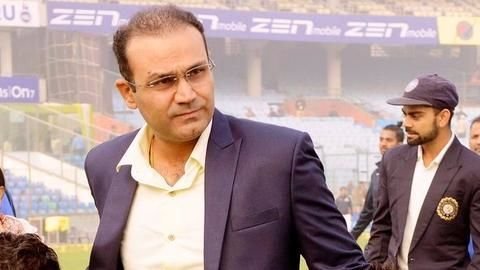 Virender Sehwag as an Indian coach