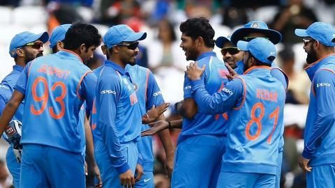 Indian Cricket Team at 2017 ICC Champions Trophy
