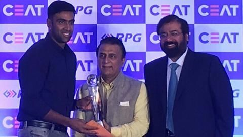 R Ashwin named the International Cricketer of the Year