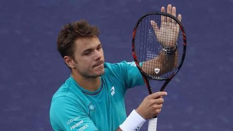 Wawrinka, Monfils into fourth round of Indian Wells