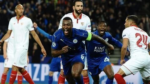 Champions League: Leicester City storms into final eight