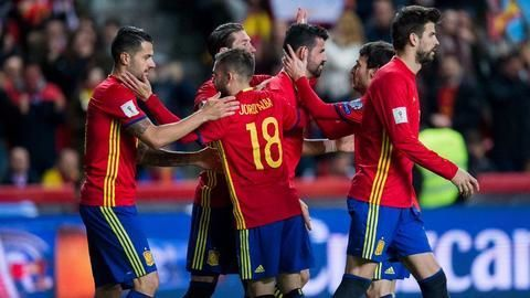 Spain register a comfortable 4-1 victory over Israel