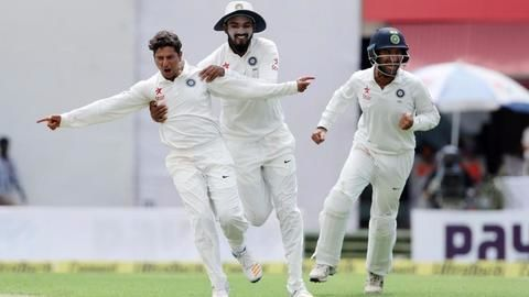 Dharamsala test: India bounce back post lunch
