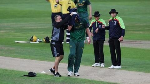 Career destroying accidents in cricket