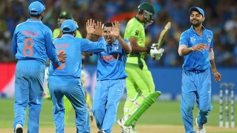 India vs Pakistan in the 2017 Champions Trophy