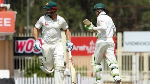 Third test match between India, Australia ends in a draw