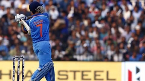 Dhoni's record breaking innings at Cuttack