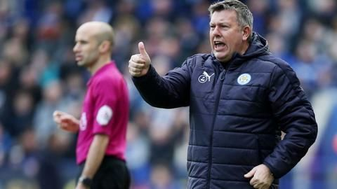 Craig Shakespeare appointed Leicester manager till season end