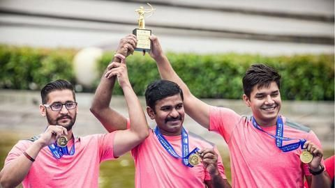 Archery World Cup- Indian men win gold in compound archery