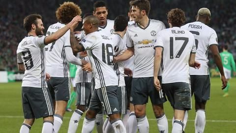 Europa League : Manchester United stroll into Round of 16