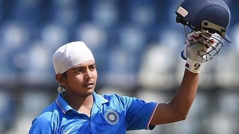 Prithvi Shaw emulates young Sachin with his Duleep Trophy feat
