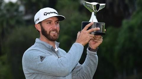 Dustin Johnson is the golf's new world no.1