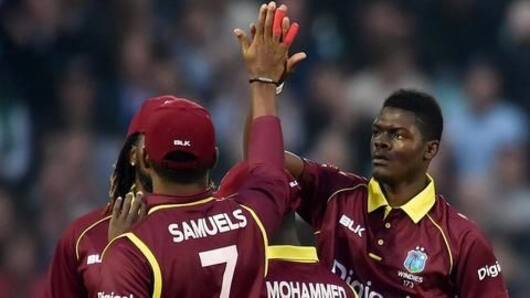 West Indies tour of Pakistan, T20I series