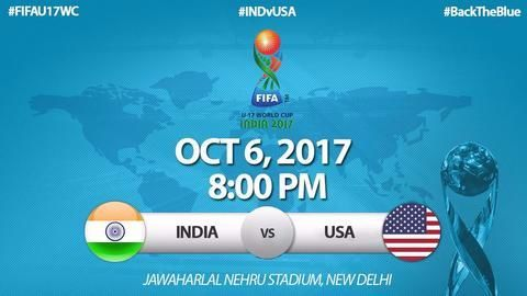India take on USA in a tough World Cup opener