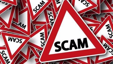 What was the financial misappropriation scam?