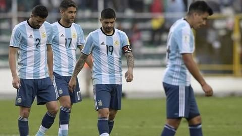 Messi-less Argentina lose to Bolivia