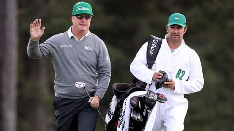 Golf Masters : Charley Hoffman leads after Round 1