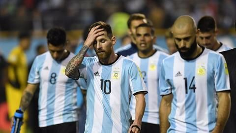Argentina in danger of missing out the World Cup