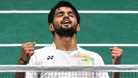 B Sai Praneeth crowned the champion of Singapore Open