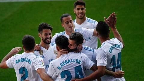 Real Madrid register a much-needed victory