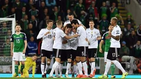 FIFA World Cup: Germany and England seal World Cup berths