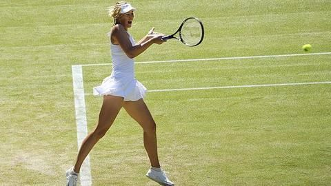 First ever televised Wimbledon qualifiers, thanks to Sharapova?