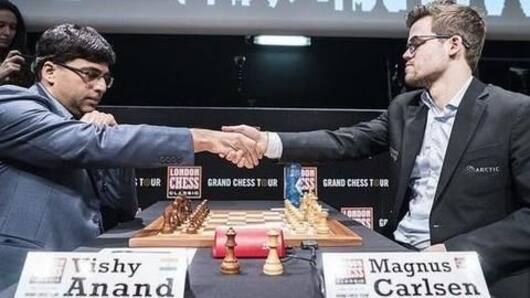 Vishy Anand at the World Rapid Chess Championship