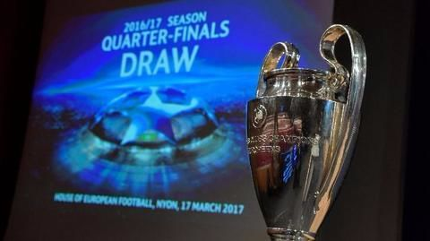 UEFA Champions League: Quarter final draw is out