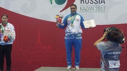 Pooja Kadian clinches gold for India in Wushu World Championships