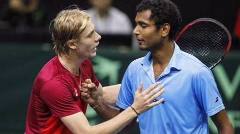 India loses Davis Cup playoff 2-3 to Canada
