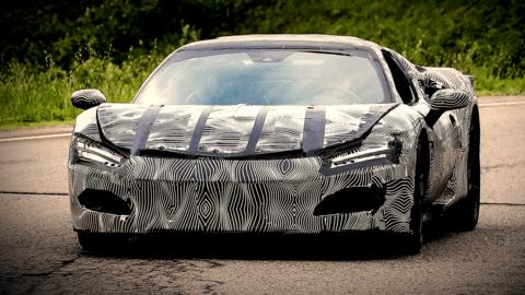 La Ferrari svelerà la nuova vettura sportiva V6 il 24 giugno