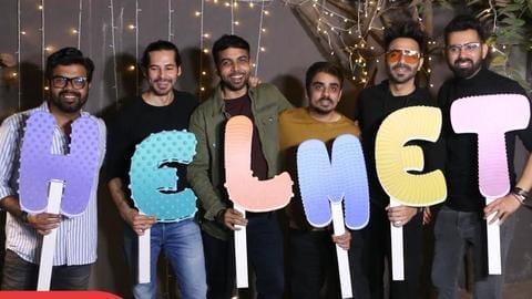 'Helmet' trailer: Aparshakti Khurana leads comedy on condoms, its taboos