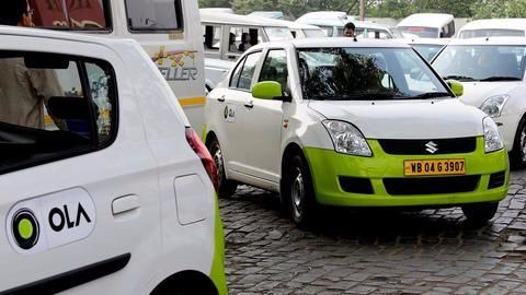 Ola moves towards dominance in the Indian market