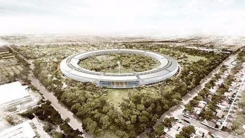 Apple's new campus to be operational this year