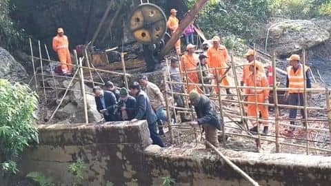 Meghalaya: After losing second body, rescuers struggling to retrace it