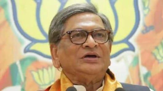 SM Krishna on leaving the Congress