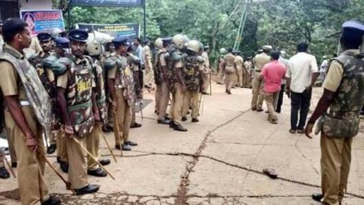 Sabarimala Temple opening: Police want Section 144 imposed