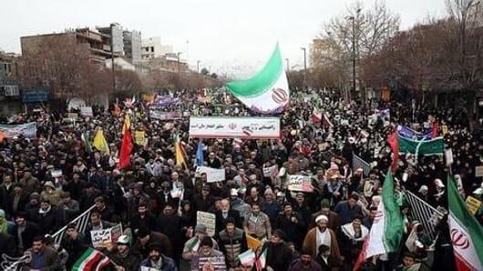 Iran celebrates 40th anniversary of 1979 revolution