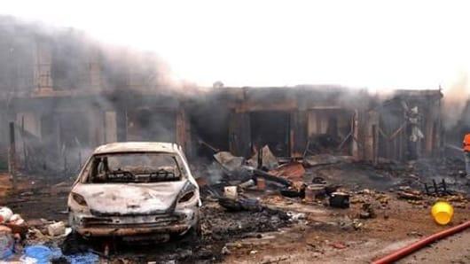 IED blast kills four policemen in Kashmir